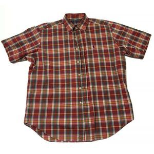 Ralph Lauren Blake Shirt Red Blue Yellow Plaid